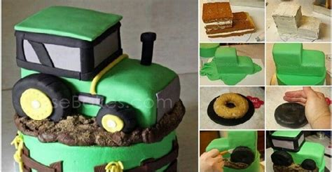 diy tractor cake tutorial home design garden