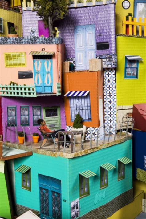 incredible examples  cardboard city art bored art