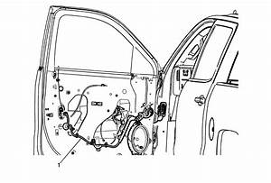 Repair Instructions - Front Side Door Wiring Harness Replacement  Crew Cab  Extended Cab