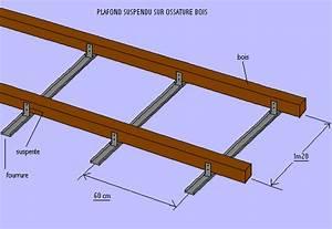 Pose D Un Faux Plafond En Ba13 : dsblog pose d 39 un faux plafond fixe en plaques de pl tre ~ Melissatoandfro.com Idées de Décoration