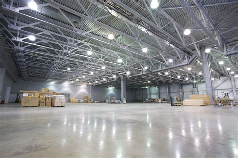 warehouse industrial lighting
