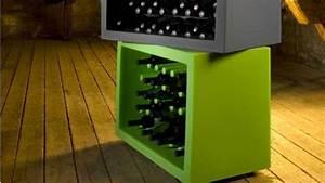 Rangement Bouteille De Vin : rangement de bouteille de vin ~ Teatrodelosmanantiales.com Idées de Décoration