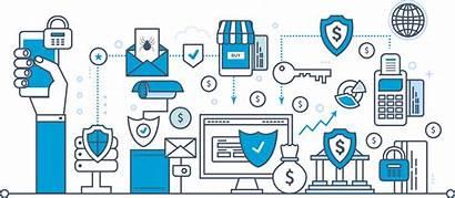 Data Security Integrity Guarantee Blockchain Deposits Vector