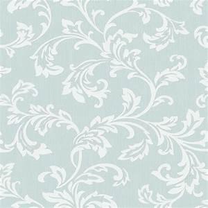 Fine Decor Cavendish Floral Wallpaper Teal (FD40992 ...