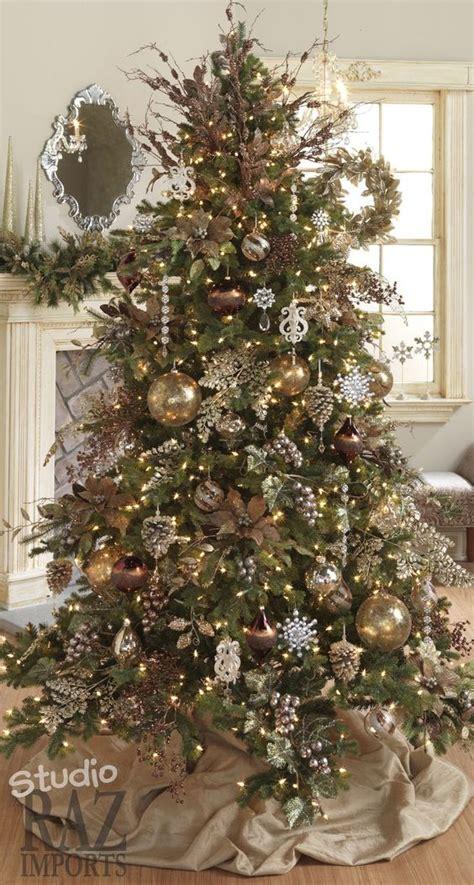 arbol navidad dorado los m 225 s lindos arboles de navidad para tu hogar estreno casa