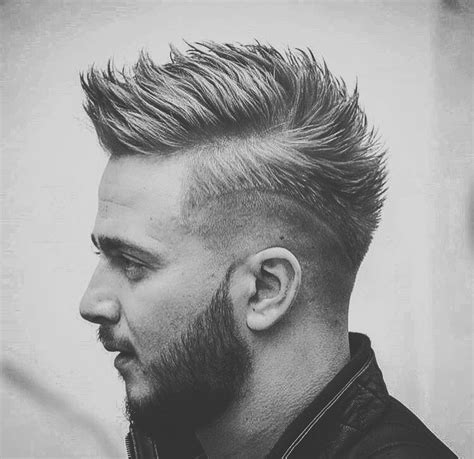 draw attention  funky faux hawk hairstyles