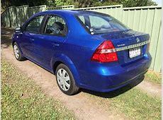 2009 Holden Barina Automatic 4 door Sedan Blue Used