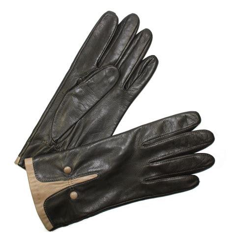 gant anti chaleur cuisine gant cuir agneau métis bicolores femme glove tous