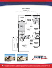 dr horton amherst floor plan