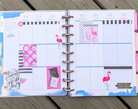 july  happy planner spreads poppy grace