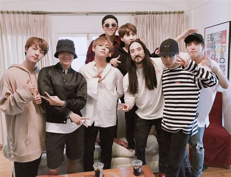 Steve Aoki Says He's Collaborated On New Music With Bts For 2018 Soompi