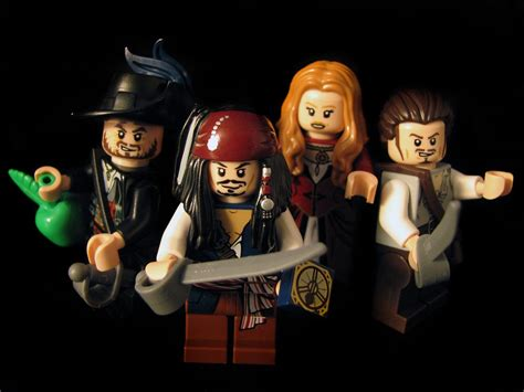 Pirates Of The Caribbean Lego Jack Sparrow Toys Wallpapers