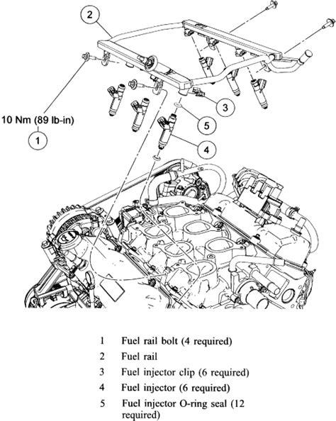 2006 F150 Fuel Line Diagram by 5 4 F150 Fuel Rail Wiring Diagram 33 Wiring Diagram