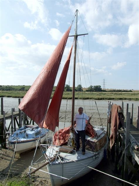 Parts Of A Clinker Boat by Dauntless 22 Clinker Built Sailing Yacht For Sale At Oare