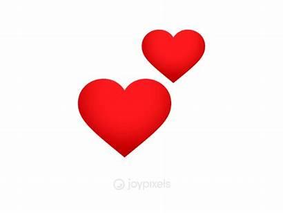 Emoji Hearts Animated Revolving Joypixels Heart Animation