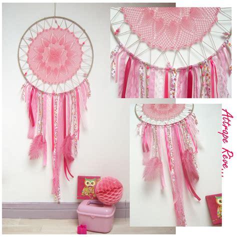 attrape rêve pour décoration de chambre de fille