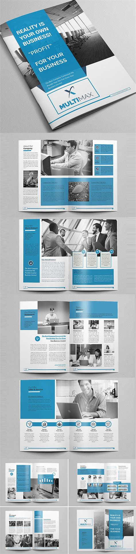 Brochure Templates For It Company by New Brochure Templates Catalog Design Design Graphic