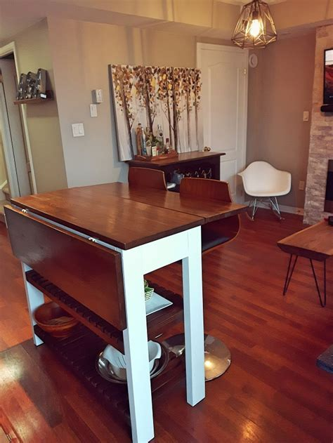Ana White   Drop Leaf Kitchen Island   DIY Projects