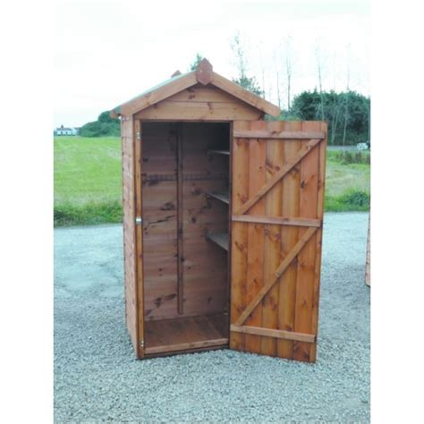 6 x 3 tool shed with double doors