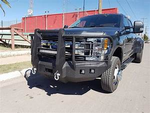 2017 550 Front Base Bumper With Fender Flare Adapters  U2013 Iron Bull Bumpers