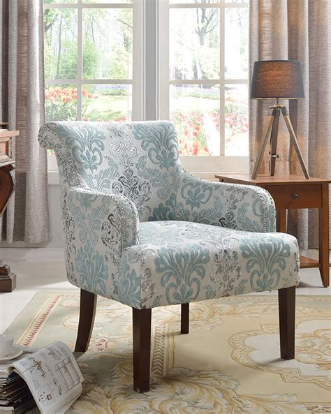 589 teal light blue living room accent arm chair