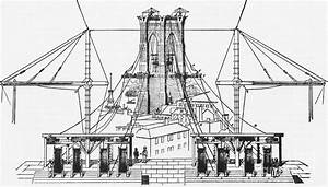 Brooklyn Bridge Diagram Photograph By Science Source