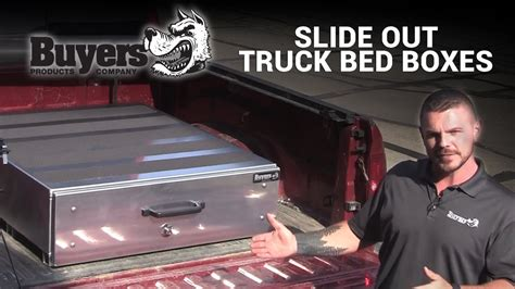 truck bed slide box buyers