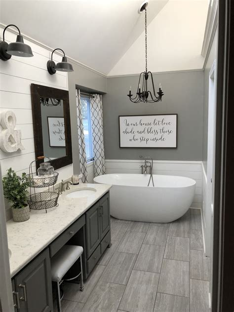 Master Bathroom Decor Ideas by Master Bath Farmhouse Style Farmhouse Modern Farmhouse