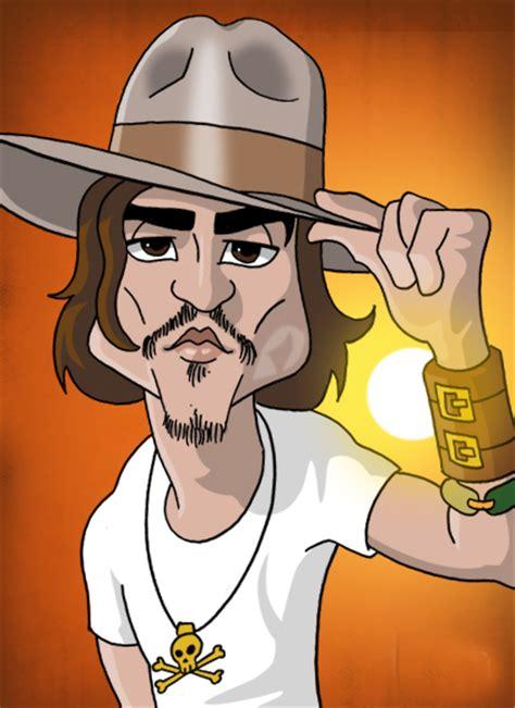 johnny depp cartoon