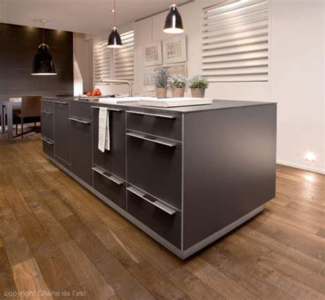 cuisine et parquet matériaux inspiration cuisine