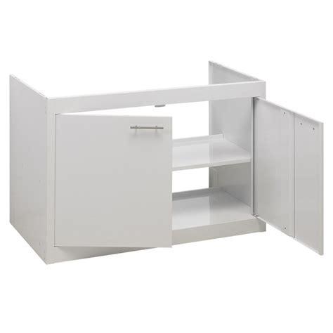 caisson sous evier cuisine meuble sous évier moderna clipmetal color mequisa