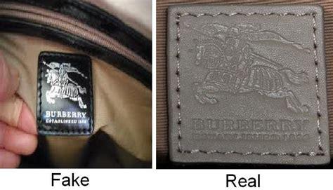 spot fake burberry bags