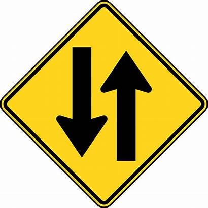 Traffic Way Clipart Sign Signs Road Arrows