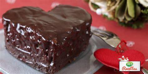 recette petits gateaux au chocolat en forme de coeur