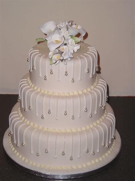 3 Tier Modern Design Wedding Cakes Shop By Occasion