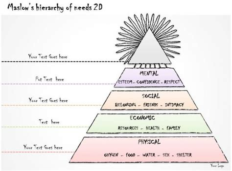 business  diagram maslows hierarchy