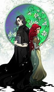 Snape and Lily | Snape and lily, Severus and lily, Anime ...
