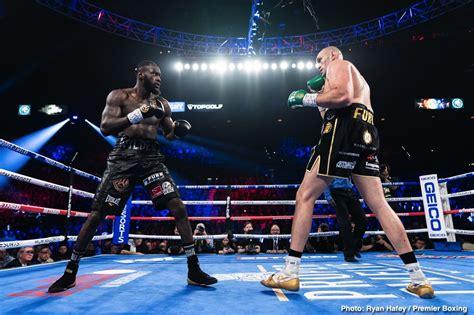 Fury wants Hearn to stop protecting Joshua ⋆ Boxing News 24