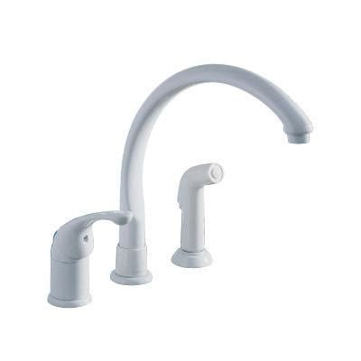 delta white kitchen faucet delta white kitchen faucets delta 2476 whlhp two