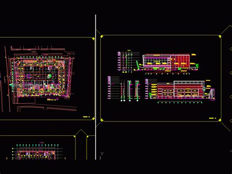 apartment mall penthouse dwg block  autocad