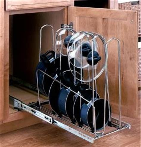 pots and pans rack cabinet pot and pan organizer cabinet organizers