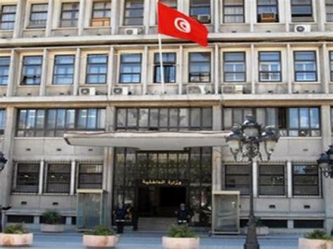 tunisie le minist 232 re de l int 233 rieur annule le r 233 gime de