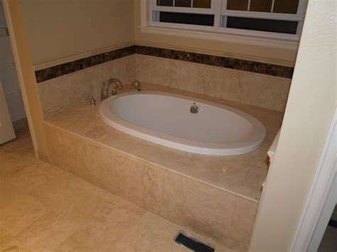 custom tub surround pictures of work completed surface floorig and