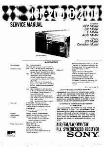 Sony Icf-2001d  Icf-2010 Service Manual