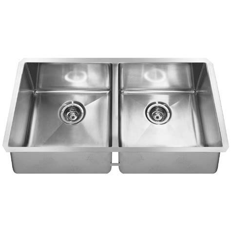 kindred kitchen sink kindred undermount stainless steel 35 in 0 2103