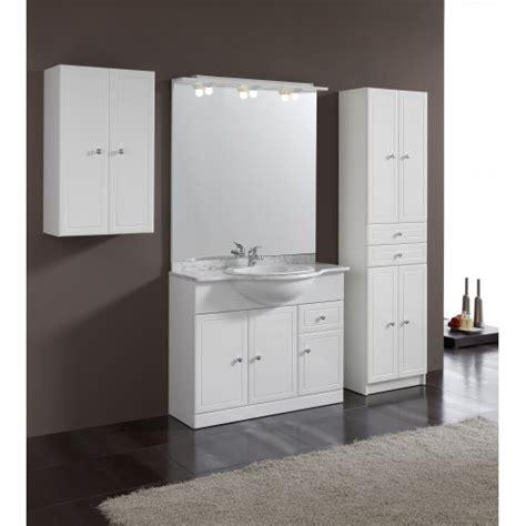 caisson bas cuisine armoire salle de bain blanc