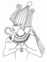 Coloring King Tut Dibujos Pharaoh Egipto Clip Popular Glad Library Clipart sketch template