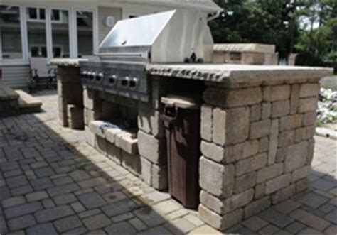 Idea Kitchen Island - outdoor kitchen landscaping and landscape design for patio retaining wall backyard and more