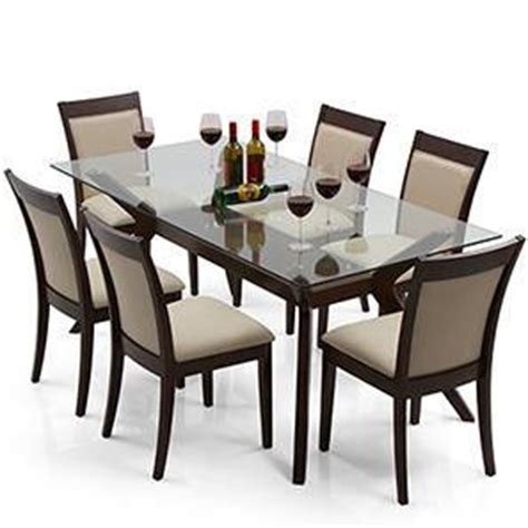 wesley dalla 6 seater dining table set ladder
