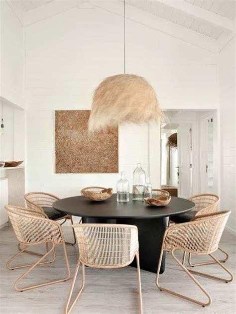 ideias  salas de jantar  mesa redonda